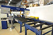 material handling system for structural steel